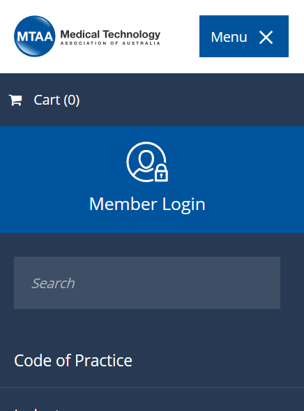 How do I login to the website? - MTAA